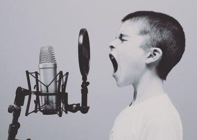 Mijn stem en teksten voor voice-over